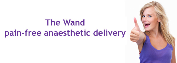 The Wand: pain-free dentistry